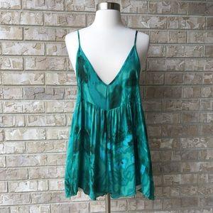 NWT One Teaspoon Emerald Rose Loco Romper  XS 🌸